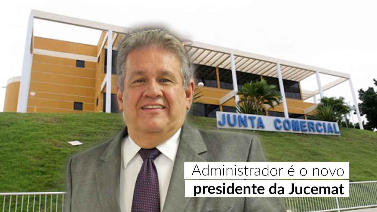 Presidente do CRA-MT, Hélio Tito, passa a presidir a Junta Comercial de MT