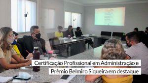 Conselheiro Mauro Leonidas reúne-se com representantes de IES para divulgar Prêmio Belmiro Siqueira e Certificação em ADM